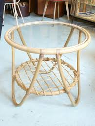 gold bamboo glass coffee table coffee table design ideas