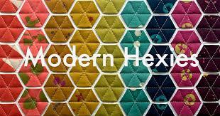 Modern Hexies | Modern Handcraft &  Adamdwight.com