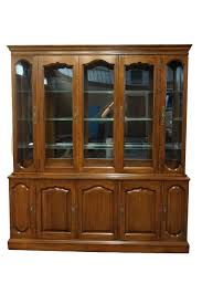 High End China Cabinets High End Used Furniture Davis Cabinet Old World Collection Solid