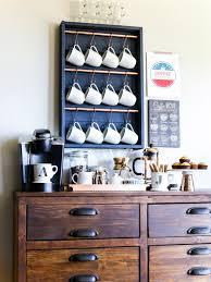 Kitchen Coffee Bar Upgrade Your Kitchen With A Stylish Diy Coffee Bar Hgtv