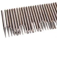 dremel diamond bits. new 30 diamond 3mm shank burrs for dremel rotary tool drill bit engraving parts bits