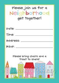 Free Printable Flyer Templates Word Neighborhood Idea Map At The Block Party But Replac On Free 77