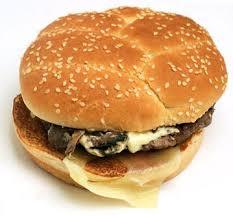 angus mushroom swiss burger no