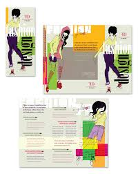 tri fold school brochure template fashion design school tri fold brochure template