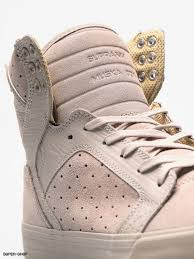 Supra Shoes Skytop Silver Cloud