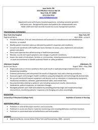 45 New Cardiac Nurse Resume Example Sample