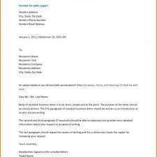 Letter Format For Business Letters Inspirationa Business Letters New ...