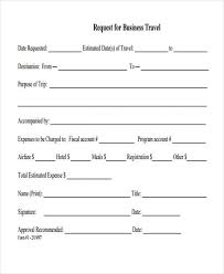 Sample Of Order Form Template Business Travel Request Form Template Sample Business Travel Request