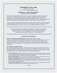 Marketing Resume Skills Enchanting Sample Marketing Resume Popular Example A Good Resume Unique