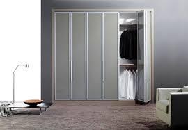 image of modern folding closet doors