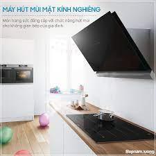 MÁY HÚT MÙI MẶT KÍNH NGHIÊNG - MÓN TRANG... - Bếp Nam Dương -  bepnamduong.vn