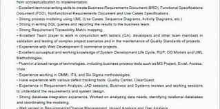 Agile Business Analyst Resumes Agile Business Analyst Resume Agile Design And Ideas Page 0