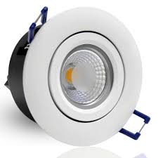 directional 5w cob led recessed lighting fixtures 2800k warm white ceiling light equal elegant reflector trim