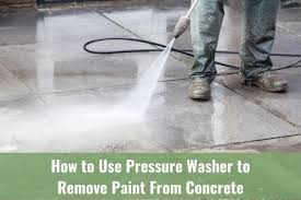 remove paint from concrete