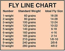 Fly Line Leader Size Chart Choosing A Fly Line Pennsylvania Outdoor Journal