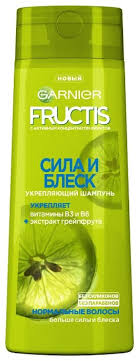 Купить <b>GARNIER Fructis шампунь</b> Сила и Блеск <b>Укрепляющий</b> с ...