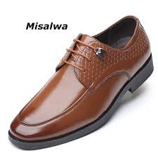 Misalwa New Stylish Round Toe Men's Dress Shoes Ceremonial ...