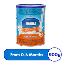wyeth bonna stage 1 infant formula for 0 to 6 months can