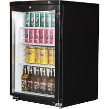 dellware j85 mini glass door fridge