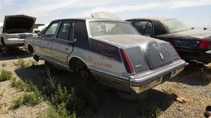 1983 lincoln continental junkyard find 18 1983 lincoln continental in california junkyard photo by murilee martin