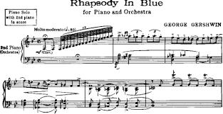 「1924年 - ジョージ・ガーシュウィンの『ラプソディ・イン・ブルー』」の画像検索結果