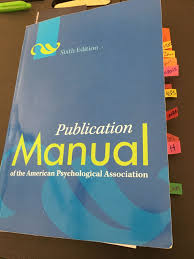 Tips For Getting The Most Out Of The Apa Publication Manual