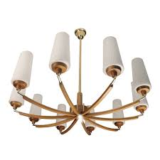italian wood andass chandelier glass ceiling fixture mid gorgeous century modern west elm arc 17th dutch