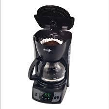 5 Cup Coffee Maker Mr Coffeer Simple Brew 5 Cup Programmable Coffee Maker Black