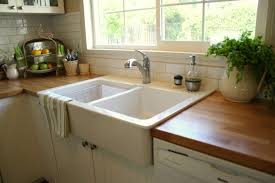 Farmhouse Sink With Laminate Countertops Fanciful Stunning Apron Ikea Home  Ideas 9 Ikea Apron Front Sink82