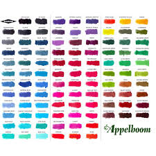 Hero Arts Shadow Ink Color Chart Diamine Ink 80ml Ink Bottle 101 Colors
