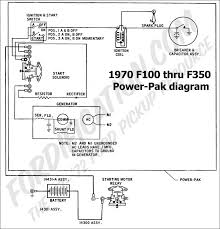 ford truck technical drawings and schematics section h wiring Ford Model A Wiring Diagram 6V 1970 f 250, f 350 power pak wiring *