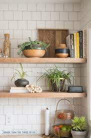 Shelving For Kitchen Kitchen Reveal With Dark Cabinets And Open Shelving Bigger Than