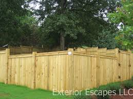 exterior wood fences. all of our wood fences exterior m