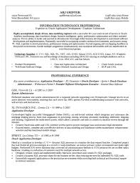 oracle dba resume example database administrator cover letter