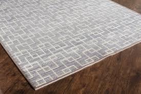 rugs america asteria rectangular gray ivory area rug
