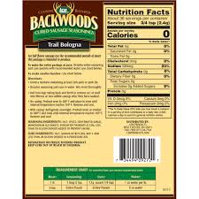 Trail Bologna Nutrition Information