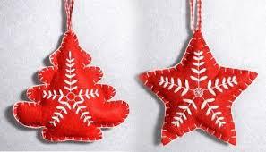 How to make Christmas Felt Ornaments