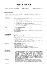 Example Of Resume For Accountant Brilliant Example Resume Accounting Student for Endearing Sample 29