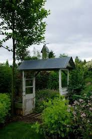 lovely little enclosure made from old doors