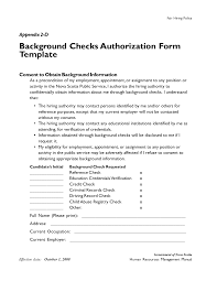 Background Check Authorization Form Inspirational Background Check Authorization Form Template 4