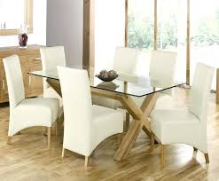 glass top dinette sets astonishing brown rustic wooden glass top dining table sets stained ideas 36