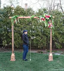 Diy Self Standing Wood Arch Jaime Costiglio Sorry The Thesorrygirls Decor Drapes Photobooth Photoshoot Summer Wedding Flower Girls Arbor Floral Wall Archway