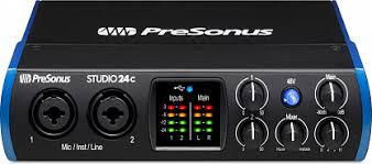 Купить <b>Аудио интерфейс PRESONUS STUDIO</b> 24C с бесплатной ...