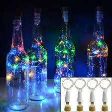 Nút Bần Có Đèn Led Trang Trí Chai Rượu - Đèn trang trí