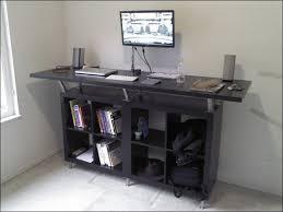 Standing Office Desk Ikea Unique Ikea Standing Desk Hack Desks Roselawnlutheran Office