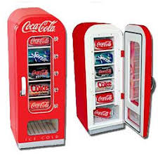 cool stuff for your office. thermoelectric retro cocacola vending refrigerator cool stuff for your office