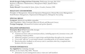 Resume Example Ii Limited Work Experience Vickie L Morgan Job Free