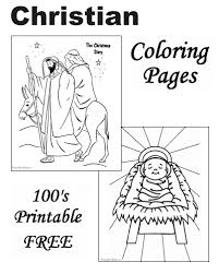 Coloring page with orthodox cathedral or christian temple as a concept of religious architecture. Christian Coloring Pages The Christmas Story