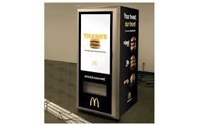 Big Mac Vending Machine Classy A Free Big Mac ATM Is Coming To Boston Next Week