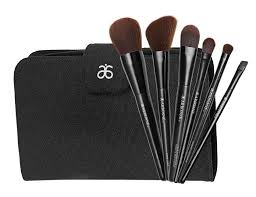 arbonne brushes feel super soft and their natural reclaimed wood handles are d with water based pigment